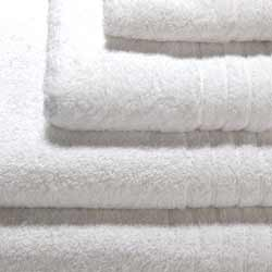 Hotel White Luxury Bathroom Towels  650gsm Range