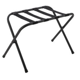 Hotel Standard Black Luggage Rack