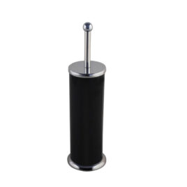 Black Toilet Brush & Holder
