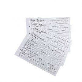 Ireland Guest Registration Cards