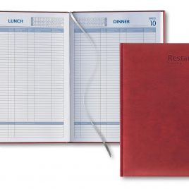 Restaurant Booking Diary A4
