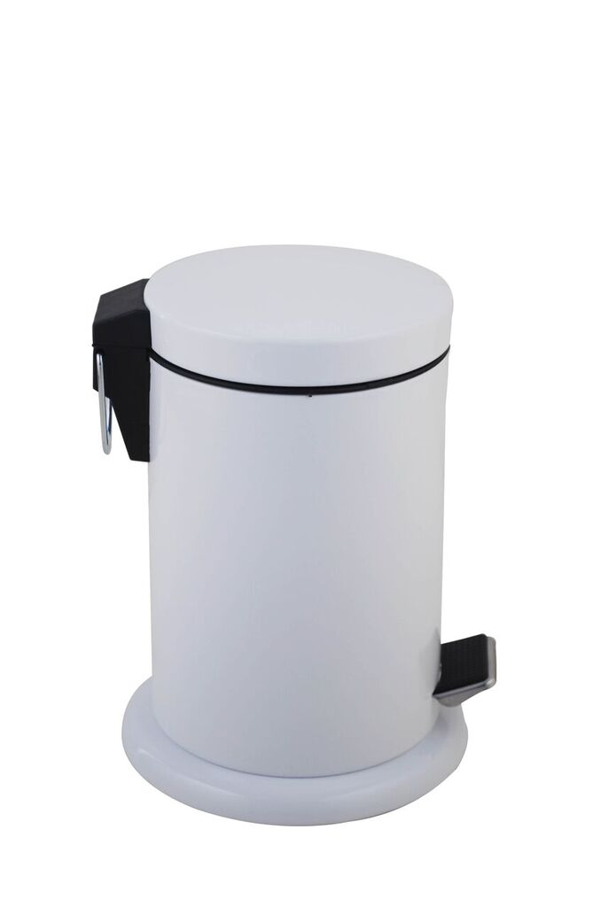 white bathroom bin white bathroom pedal bin 3 litre guest supplies ireland 15048