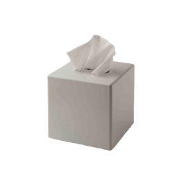 White Cube Tissue Box Cover