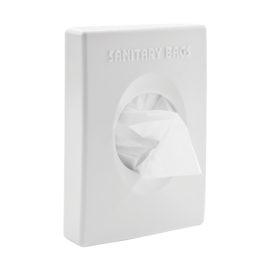 White Hygiene Bag Box Cover