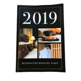 2019 Reservation Booking Diary – Max. 6 Rooms