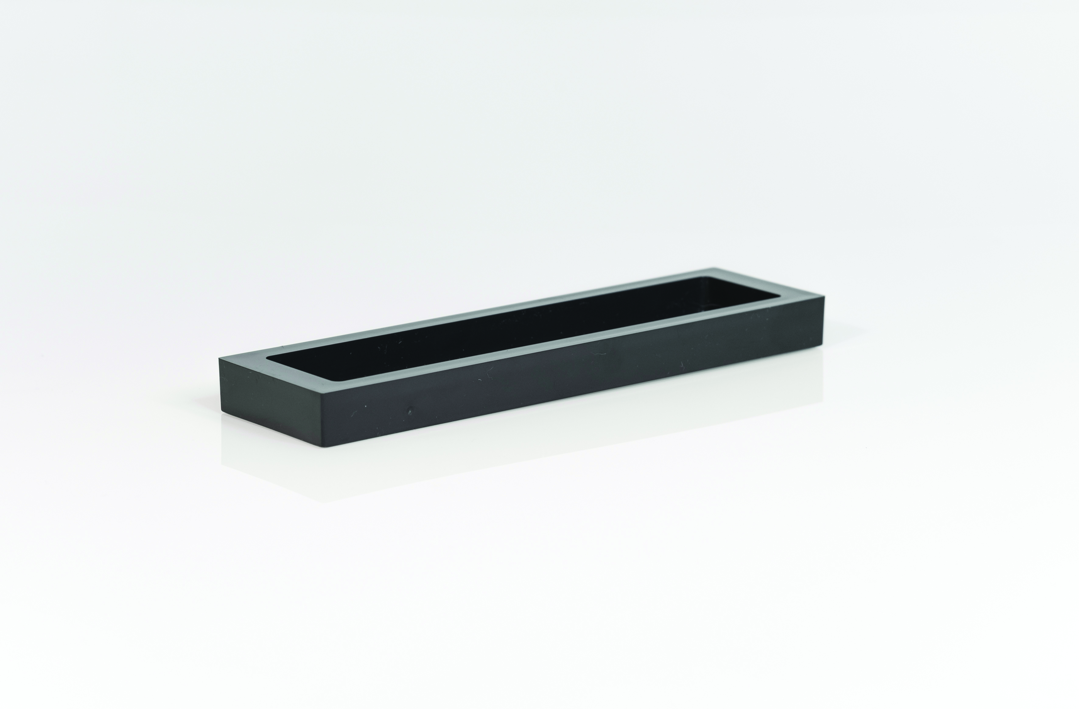 Small black presentation tray guest supplies ireland for Bathroom tray for toiletries