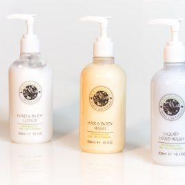 Envoque 300ml Hair & Body Wash Refillable Bottles