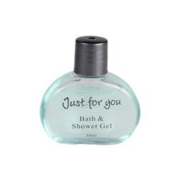 Just For You 30ml Bath & Shower Gel Bottle