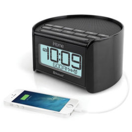 Hotel Charge Time Plus Guest Alarm Clock Radio