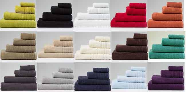 650gsm-Colour Towel Range Image