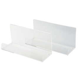 Frosted or Clear Stand Up Presentation Tray