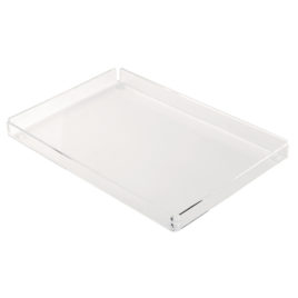 Frosted or Clear Rectangular Presentation Tray
