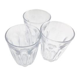 Toughened Glass Tumbler Pack