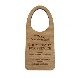 Personalised Solid Wood Door Hanging Sign
